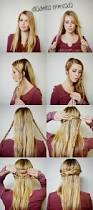 the 25 best peinados sencillos pelo suelto ideas on pinterest