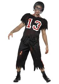 zombie costume spirit halloween zombie football player costume