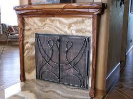 salmon studios llc fireplace doors
