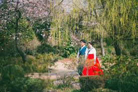 island wedding photographers hanbok pre wedding photography at jeju island gayun