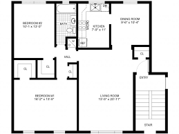 simple floor plan simple floor plan fresh draw plans house and colonial for ranch