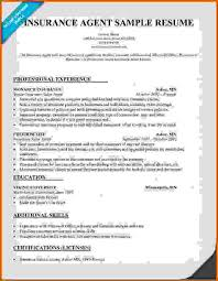 Leasing Agent Resume Examples by Insurance Agent Resume Insurance Agent Resume Examples Insurance