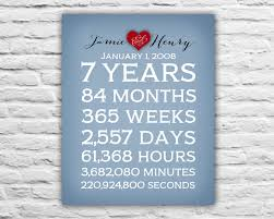 7 year anniversary gift ideas anniversary gift for husband anniversary spouse