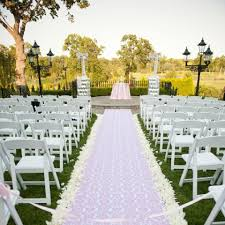 burlap wedding aisle runner 1000x white silk petal more color available centerpieces
