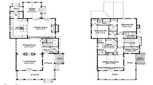 southern living floor plans eastover cottage from coastal living house plans
