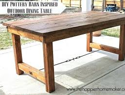 diy outdoor dining table u2013 rhawker design