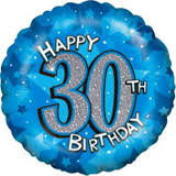 30th birthday balloons delivered 30th birthday balloons 30th birthday gifts delivery box boy