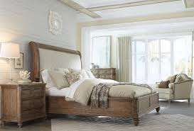 King Upholstered Sleigh Bed King Upholstered Sleigh Bed By A R T Furniture Inc Wolf And