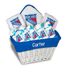 new gift baskets personalized new york rangers large gift basket nhl baby gift