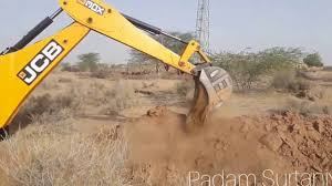 water pipeline laying down by jcb bulldozer u0026 jcb crane jcb
