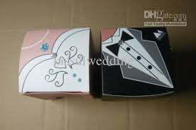 and groom favor boxes wedding cake boxes square boxes wedding and groom favor