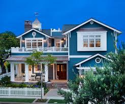 coastal farmhouse exterior beach style with white trim coastal