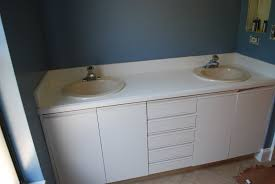 Paint Bathroom Cabinets by Kara U0027s Korner Tutorial How To Paint Bathroom Countertops To
