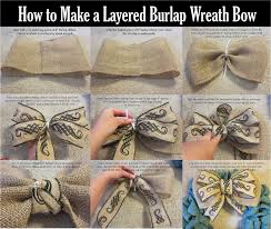 ribbon with wire best 25 wreath bows ideas on diy bow burlap ribbon