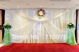 wedding backdrop curtains wedding backdrop curtains with search