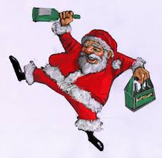funny drunk santa claus images coloring pages scraps pictures for