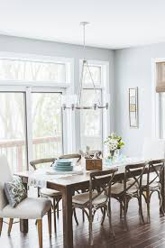 chandelier for farmhouse table dining room shabby chic style with
