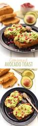 horderves for thanksgiving cornbread avocado toast the healthy maven