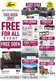 leons furniture kitchener s canada flyers