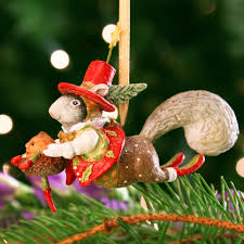 patience brewster mini mr squirrel ornament