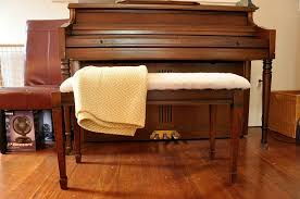 how to upholster a piano bench tutorial teeny ideas