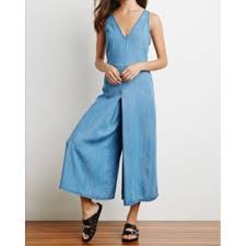 gaucho jumpsuit 80 jean gaucho jumpsuit last one clearance from
