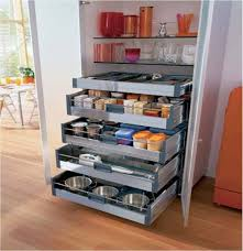 Kitchen Cupboard Interior Storage Beautiful Small Kitchen Cabinets Storage With Brown Floor Modern