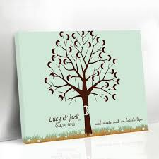 baby shower fingerprint tree custom names wedding fingerprint tree baby shower moon tree baby
