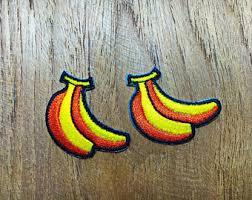 tiny banana banana cartoon etsy