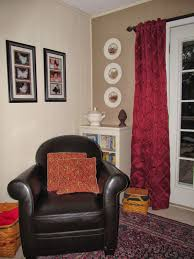photos hgtv pink sitting room with neutral armchair idolza