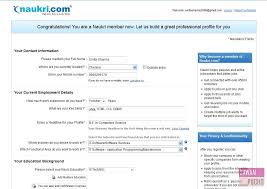 How To Write Job Profile In Resume by How To Register On Naukri Com 8 Steps With Images Quehow