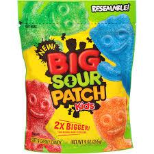 Sour Patch Kid Costume Halloween Big Sour Patch Kids Soft U0026 Chewy Candy 9 Oz Walmart