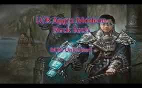 u r aggro modern budget deck tech youtube