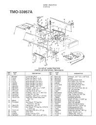 mtd lawn tractor parts model 33944a sears partsdirect