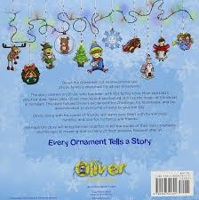 oliver the ornament story book including