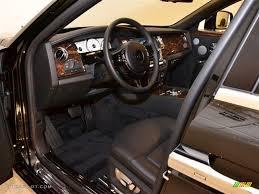 Roll Royce Ghost Interior Black Interior 2011 Rolls Royce Ghost Standard Ghost Model Photo