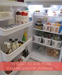 roundup 10 ways gain more storage in your refrigerator curbly