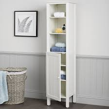 Lakeside Tall Storage Cabinet Captivating Tall White Bathroom Cabinet Bathroom Cabinets Amp