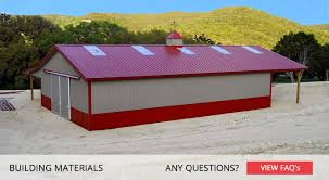 Truss Spacing Pole Barn Building Materials National Barn Company Pole Barn Post Frame