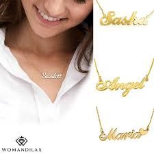 customize your own necklace customize your own name necklace custom name jewelry