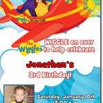 wiggles birthday party invitations addnow info