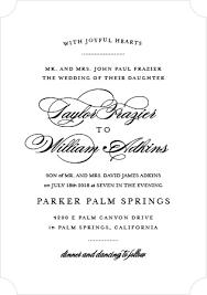 Elegant Wedding Invitations Wedding Invitations Match Your Color U0026 Style Free