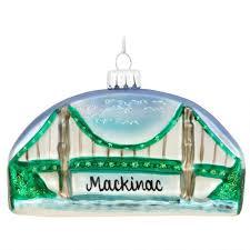 mackinac bridge ornament ethnic pride ornaments