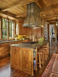 Rustic Kitchen Hoods - wood kitchen hood kitchen rustic with pendant light traditional