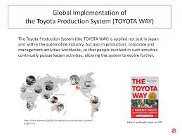 toyota worldwide toyota production system and automobile technology asia japan