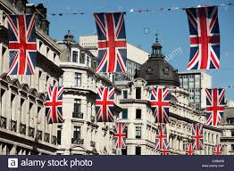 Bunting Flags Wedding London Regent Street British