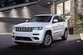 jeep grand cherokee trailhawk 2017 jeep grand cherokee trailhawk and summit models