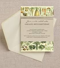 design stylish 80th birthday invitations with rsvp cards with