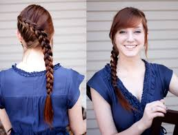How To Braid Extensions Into Your Hair by Step By Step Hunger Games Katniss Everdeen Hair Braid Makeup Geek