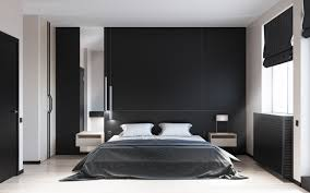 Black Or White Bedroom Furniture Provide A Trendy Look By Having Black And White Bedroom